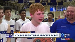 Colin's night in Sparrows Point