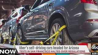 Uber moving self-driving cars to Arizona - Video