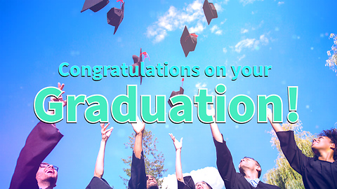 Congratulations on your Graduation! Greeting Card 1