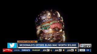 McDonald's is giving away a Big Mac ring worth $12,000 - Video