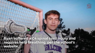 HS Sophomore Paralyzed During Wrestling Match - Video