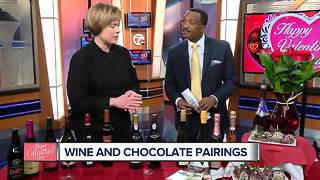 Finding the perfect wine pairing for your Valentine's Day chocolates - Video