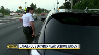 HCSO cracking down on passing stopped buses - Video
