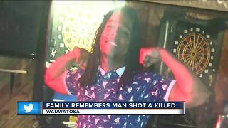Family and friends remember Wauwatosa shooting victim