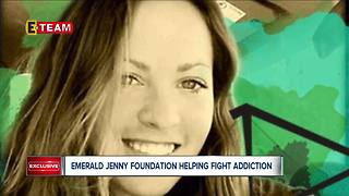 Emerald Jenny Foundation helping fight addiction - Video