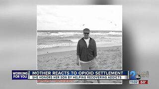 Mother honors son by helping recovering addicts