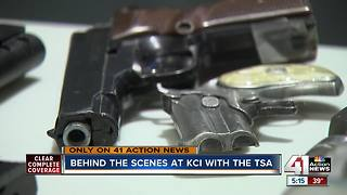Behind the scenes at KCI with the TSA - Video
