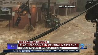Flash Flooding in Ellicott City