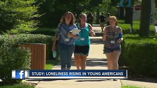 Study: Loneliness rising in young Americans, more than seniors - Video