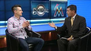 Lance Allan 1-on-1 with Brewers skipper Craig Counsell - Video