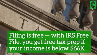 5 reasons why you should file your taxes as soon as possible - Video