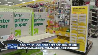back to school store - Video