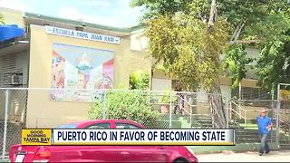 Puerto Rico votes in favor of becoming 51st state - Video