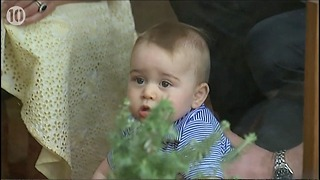 Prince George Visits The Farm - Video