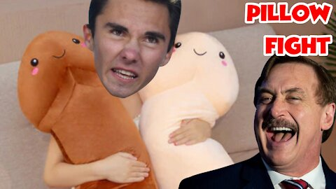 "David Hogg Builds a Pillow Company to Take Down Mike ""My Pillow"" Lindell"