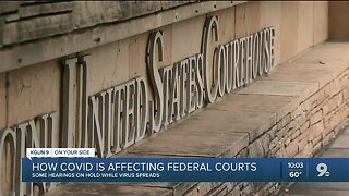 How COVID-19 is impacting federal courts