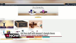 Get free stuff with Amazon's sample boxes - Video