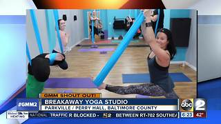 Good morning from Breakaway Yoga Studio - Video