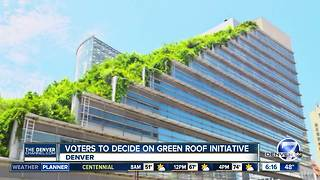 Denver's Green Roof Initiative: The pros and cons - Video
