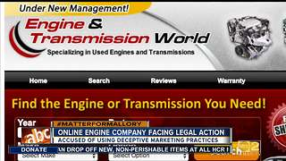 Online engine company facing legal action - Video