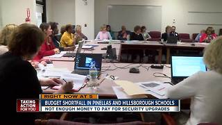 Budget shortfall in Pinellas and Hillsborough schools - Video