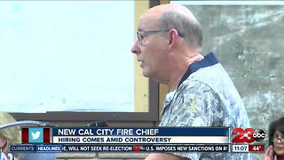 New Cal City Fire Chief - Video