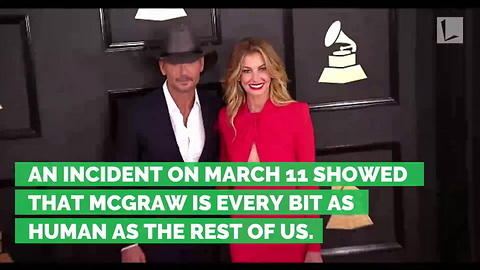 Country Music Star Tim McGraw Collapses on Stage