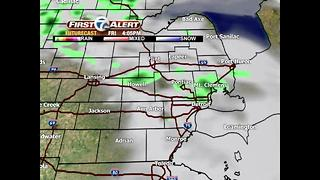 Storm chances today - Video