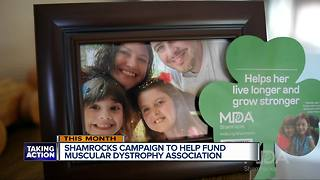 Shamrocks Campaign helps fund Muscular Dystrophy Association - Video