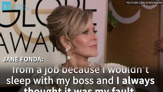 Actress Jane Fonda Reveals She Was Raped - Video