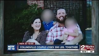 Collinsville couple shares massive weight loss journey - Video