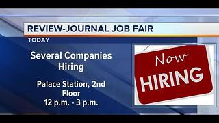 Review-Journal Job Fair on June 21 2017 - Video