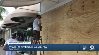 Worth Avenue on Palm Beach closed to vehicles, pedestrians through Saturday
