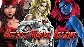Top 10 HOTTEST Marvel Female Super Villains - Video