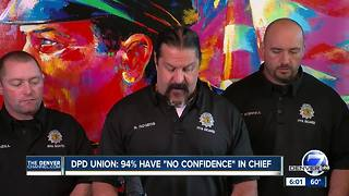 Denver police union issues 'no confidence' vote against Chief Robert White - Video