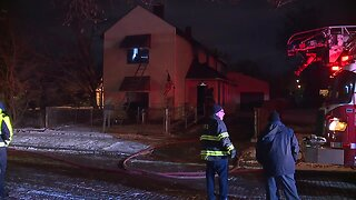Firefighters respond to house fire in North Broadway neighborhood