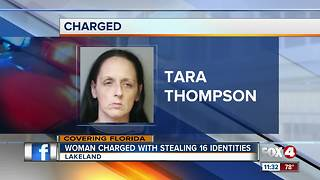 Woman steals multiple identities