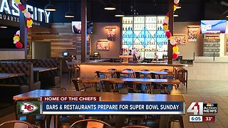 Kansas City bars prepping for Super Bowl parties