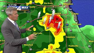 Flash flood watch issued for southern SE Wisconsin counties - Video