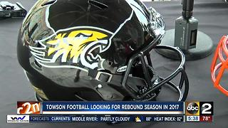 Towson football aims for rebound season in 2017 - Video