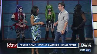 Fright Dome hosting hiring event - Video
