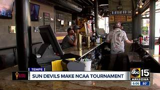 Fans, businesses feeling hype around Sun Devils appearance in the NCAA tournament - Video