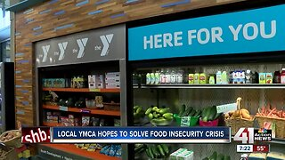 North Kansas City YMCA welcomes new food pantry
