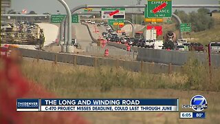 C-470 Express lanes project won't be completed for a while