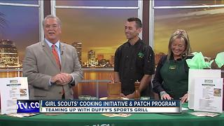 Duffy's, Girl Scouts team up for cooking badge program - Video