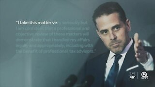 Hunter Biden facing federal investigation over 'tax affairs'