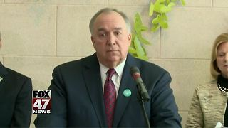 Engler announces new health structure at MSU - Video
