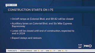 Construction project set to begin in Fort Myers