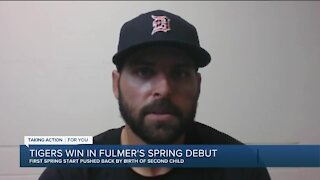 Tigers beat Orioles in Fulmer's spring debut