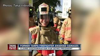 Former Tampa firefighter awarded damages for discrimination - Video